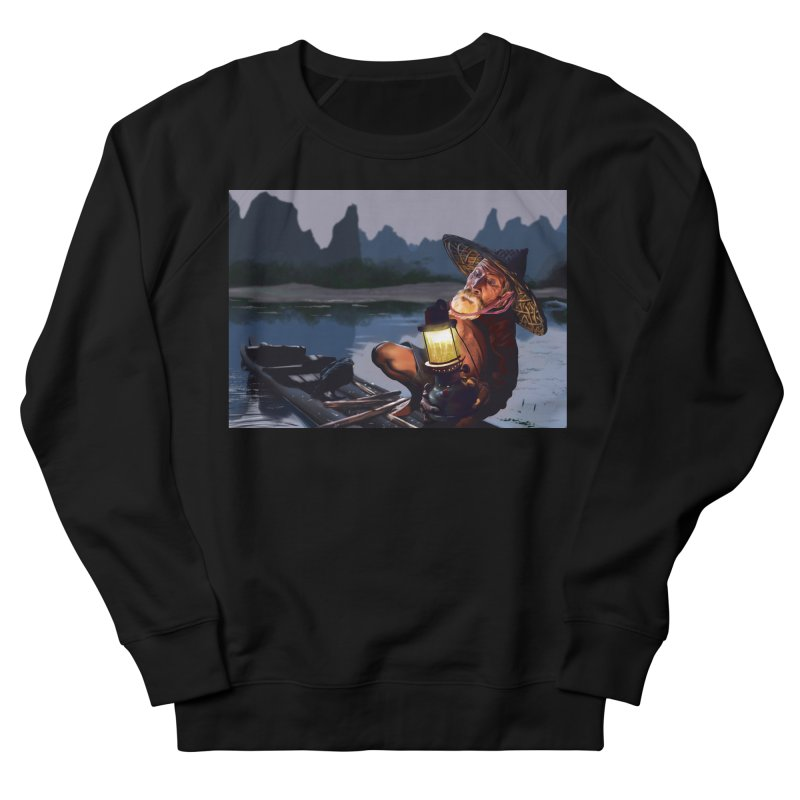 Fisher Men's French Terry Sweatshirt by ibeenthere's Artist Shop