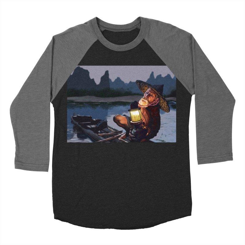 Fisher Women's Baseball Triblend Longsleeve T-Shirt by ibeenthere's Artist Shop