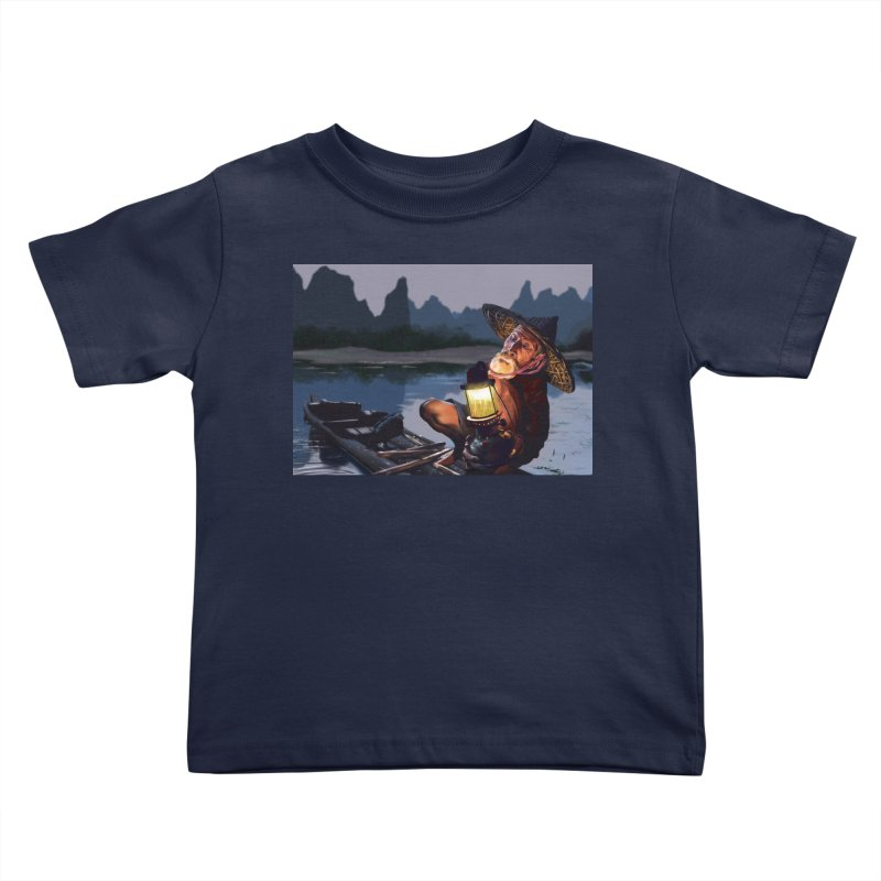 Fisher Kids Toddler T-Shirt by ibeenthere's Artist Shop
