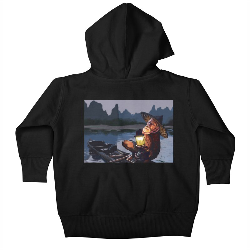 Fisher Kids Baby Zip-Up Hoody by ibeenthere's Artist Shop