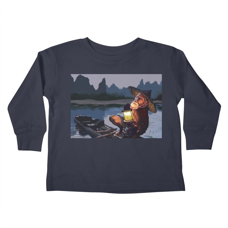 Fisher Kids Toddler Longsleeve T-Shirt by ibeenthere's Artist Shop