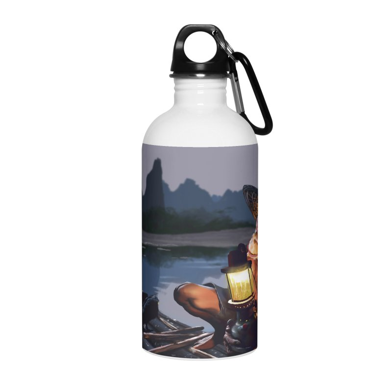 Fisher Accessories Water Bottle by ibeenthere's Artist Shop