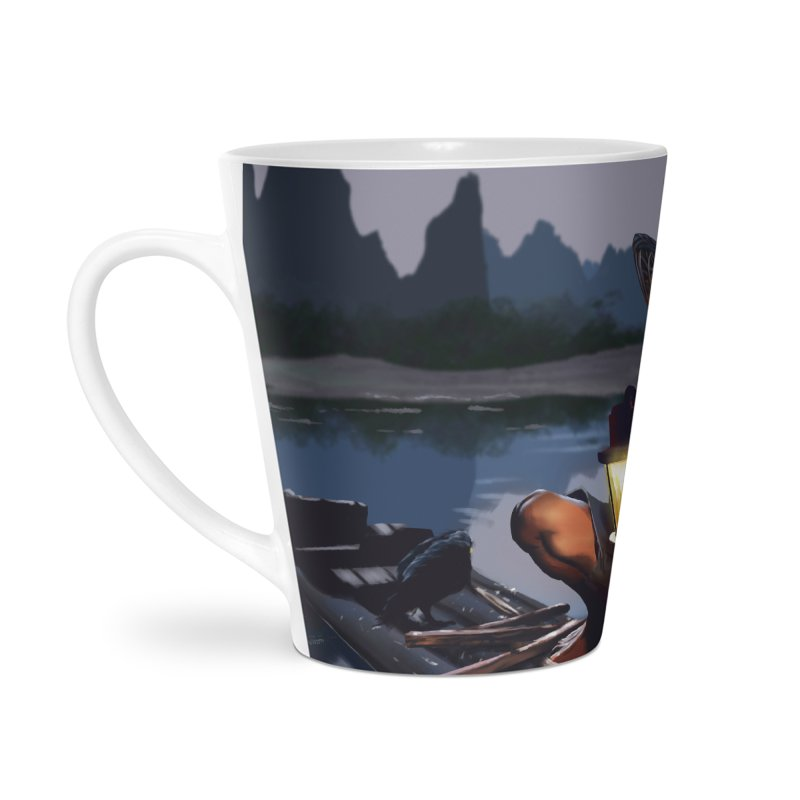 Fisher Accessories Latte Mug by ibeenthere's Artist Shop