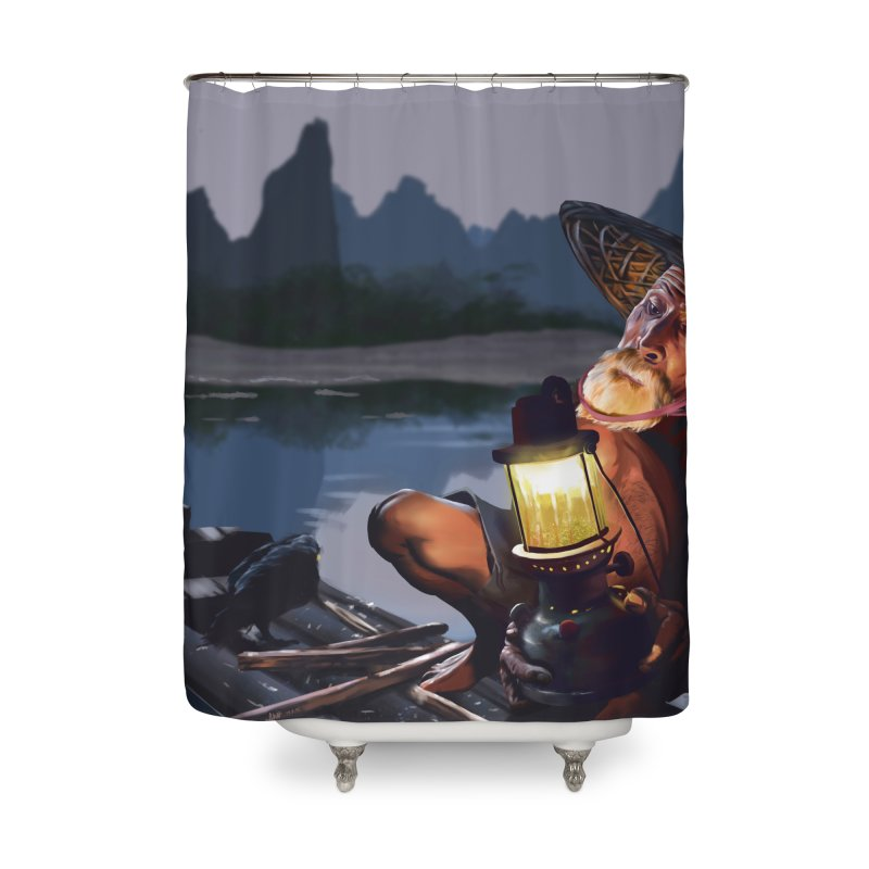 Fisher Home Shower Curtain by ibeenthere's Artist Shop