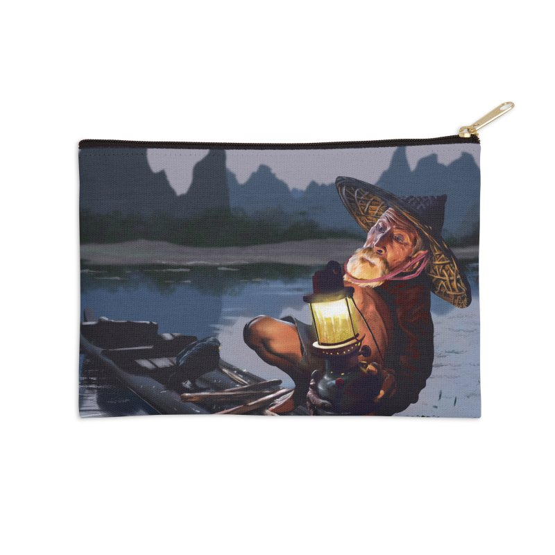 Fisher Accessories Zip Pouch by ibeenthere's Artist Shop