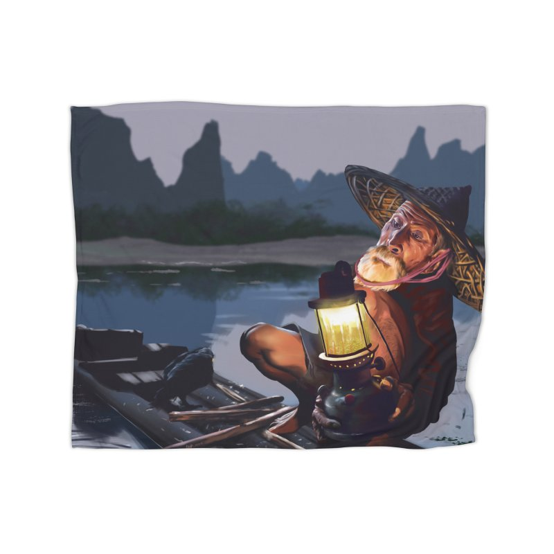 Fisher Home Blanket by ibeenthere's Artist Shop