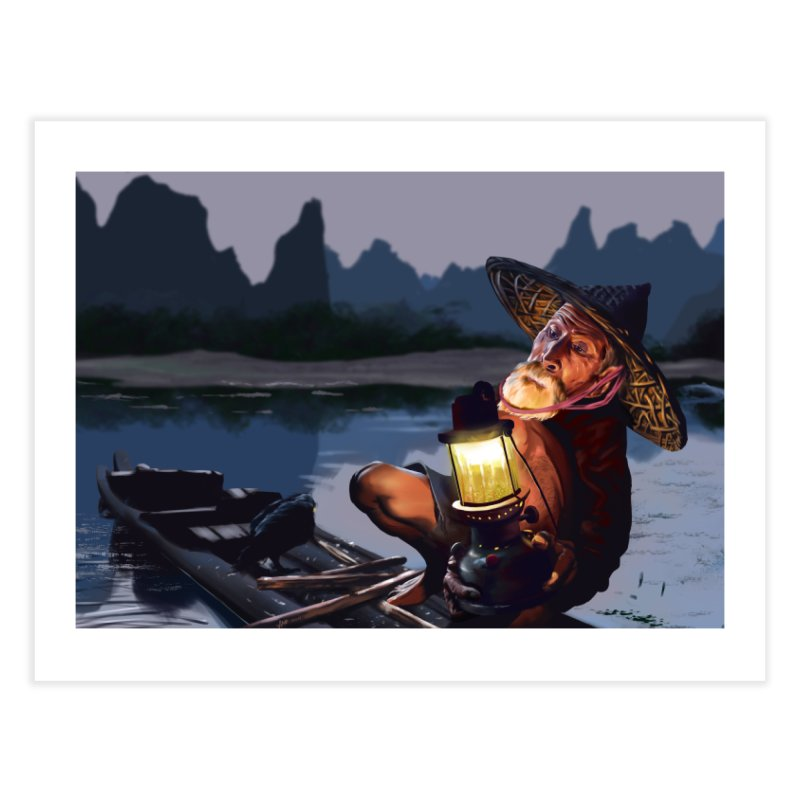 Fisher Home Fine Art Print by ibeenthere's Artist Shop