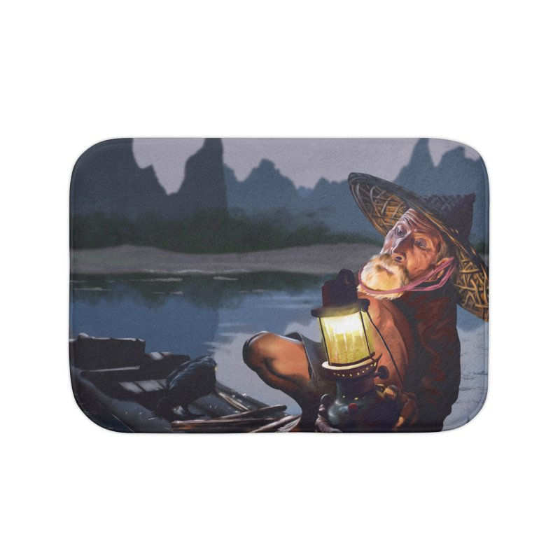 Fisher Home Bath Mat by ibeenthere's Artist Shop