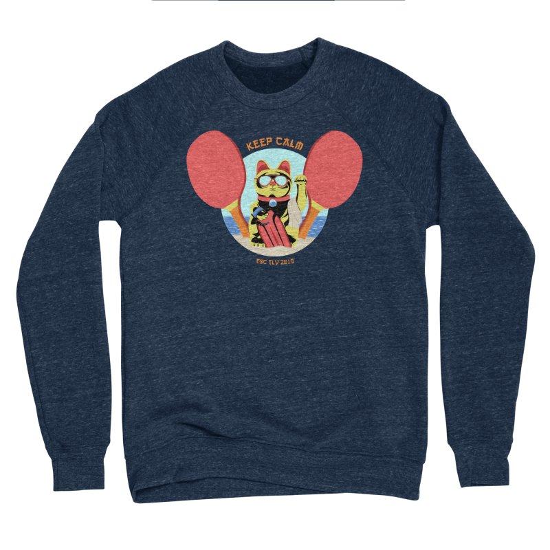 TLVision Men's Sponge Fleece Sweatshirt by ibeenthere's Artist Shop
