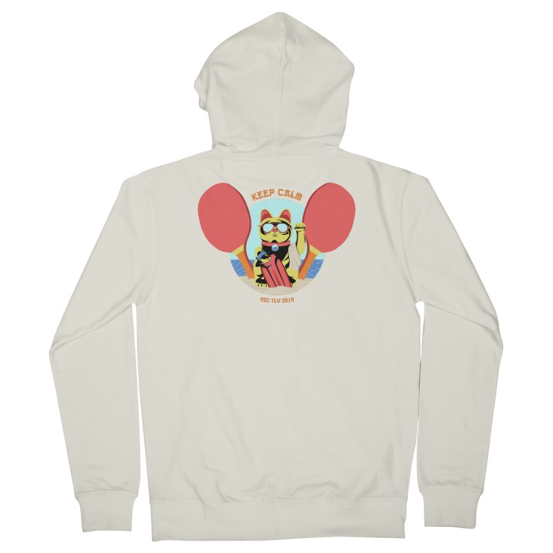 TLVision Women's French Terry Zip-Up Hoody by ibeenthere's Artist Shop