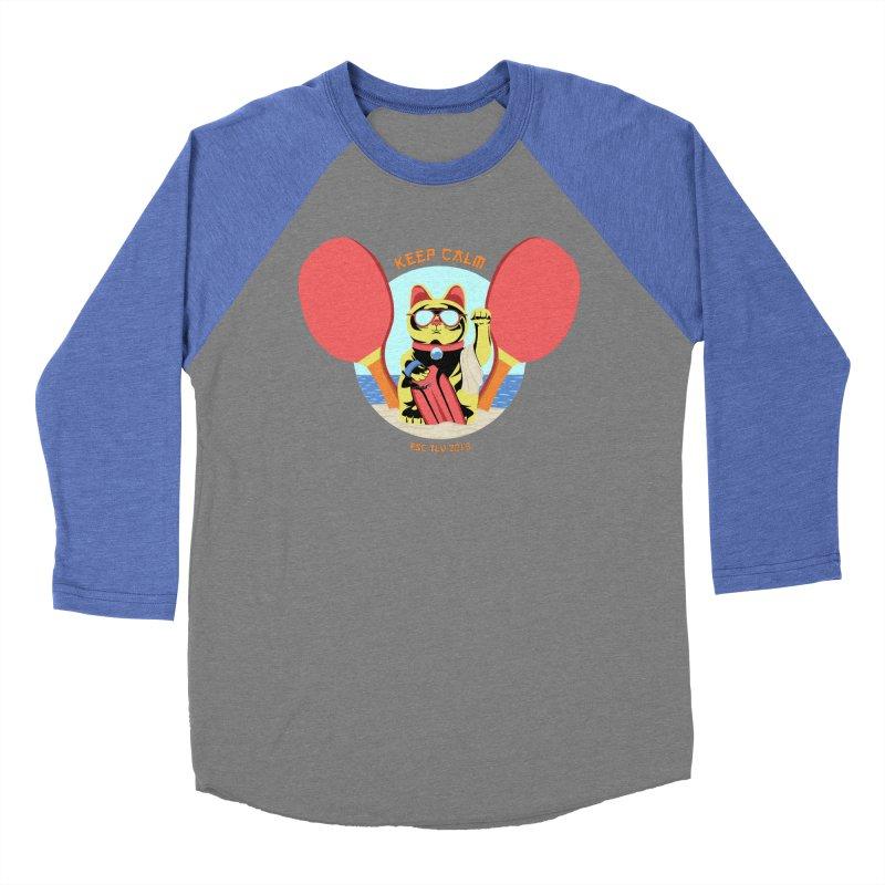 TLVision Women's Baseball Triblend Longsleeve T-Shirt by ibeenthere's Artist Shop