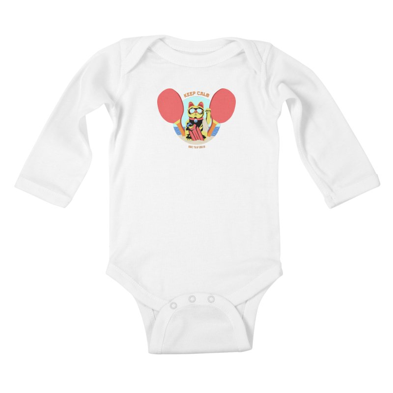 TLVision Kids Baby Longsleeve Bodysuit by ibeenthere's Artist Shop