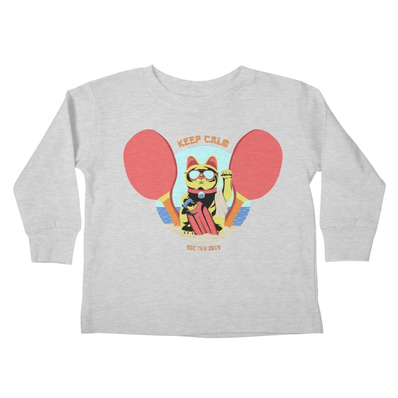 TLVision Kids Toddler Longsleeve T-Shirt by ibeenthere's Artist Shop