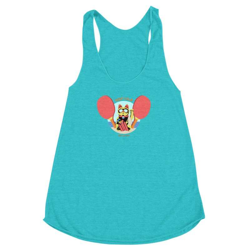 TLVision Women's Racerback Triblend Tank by ibeenthere's Artist Shop