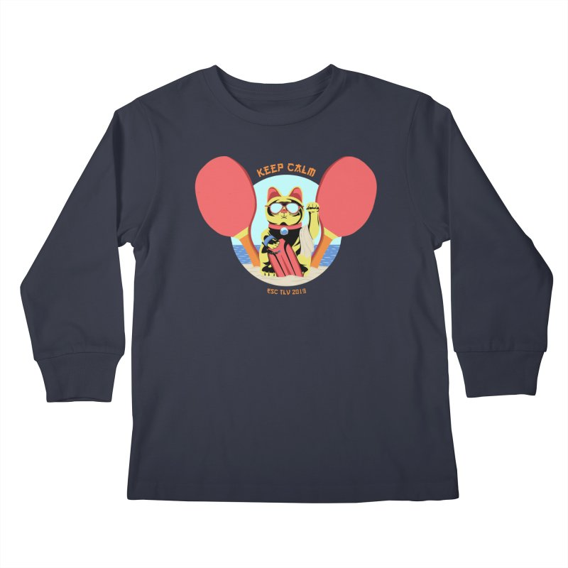 TLVision Kids Longsleeve T-Shirt by ibeenthere's Artist Shop