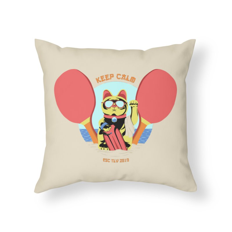 TLVision Home Throw Pillow by ibeenthere's Artist Shop