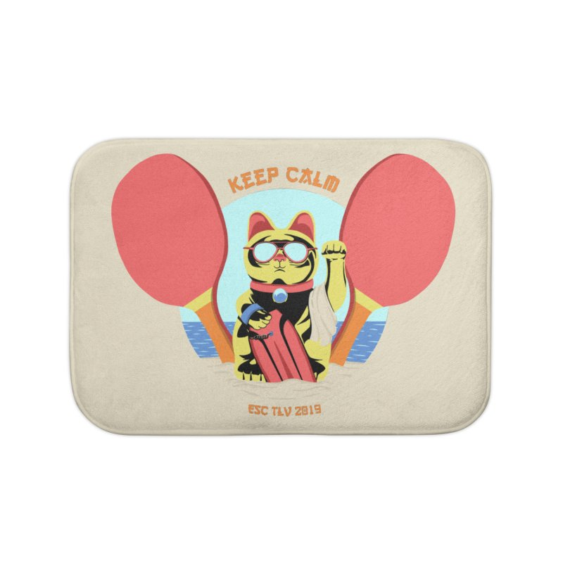 TLVision Home Bath Mat by ibeenthere's Artist Shop