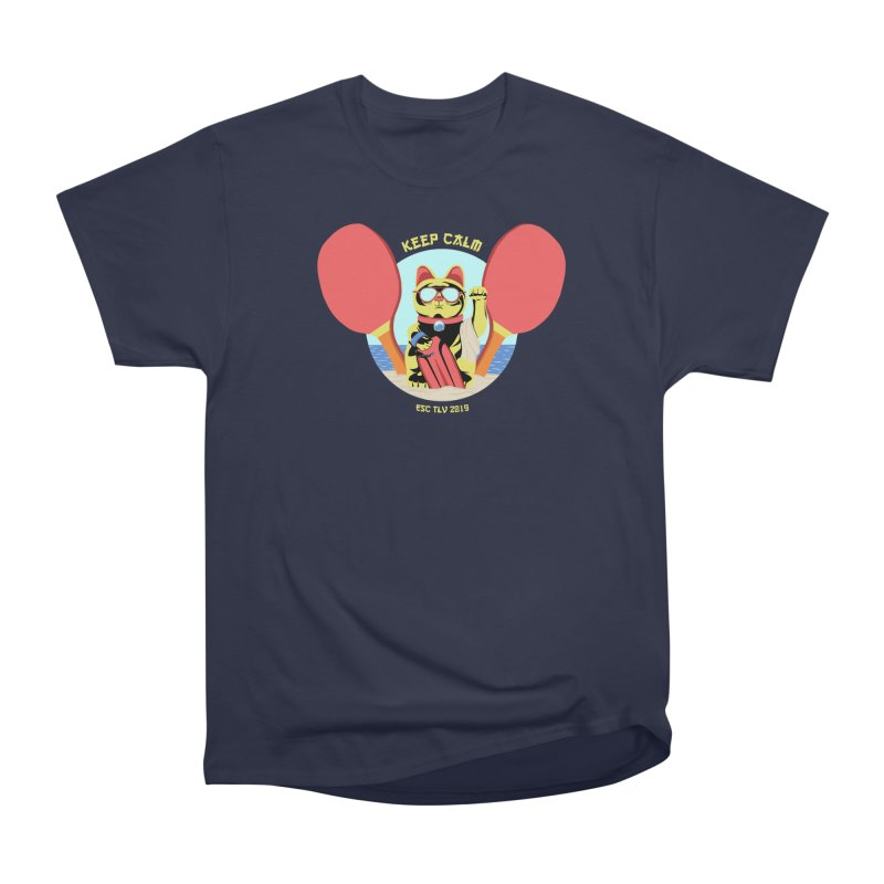 TLVision - Varient A Men's Heavyweight T-Shirt by ibeenthere's Artist Shop