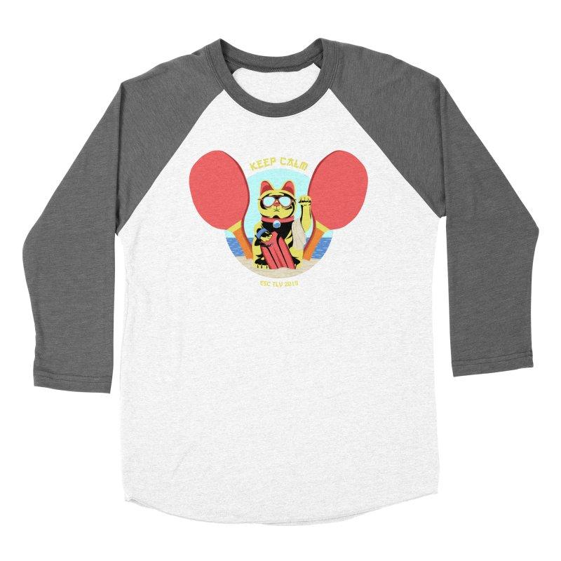 TLVision - Varient A Men's Baseball Triblend Longsleeve T-Shirt by ibeenthere's Artist Shop