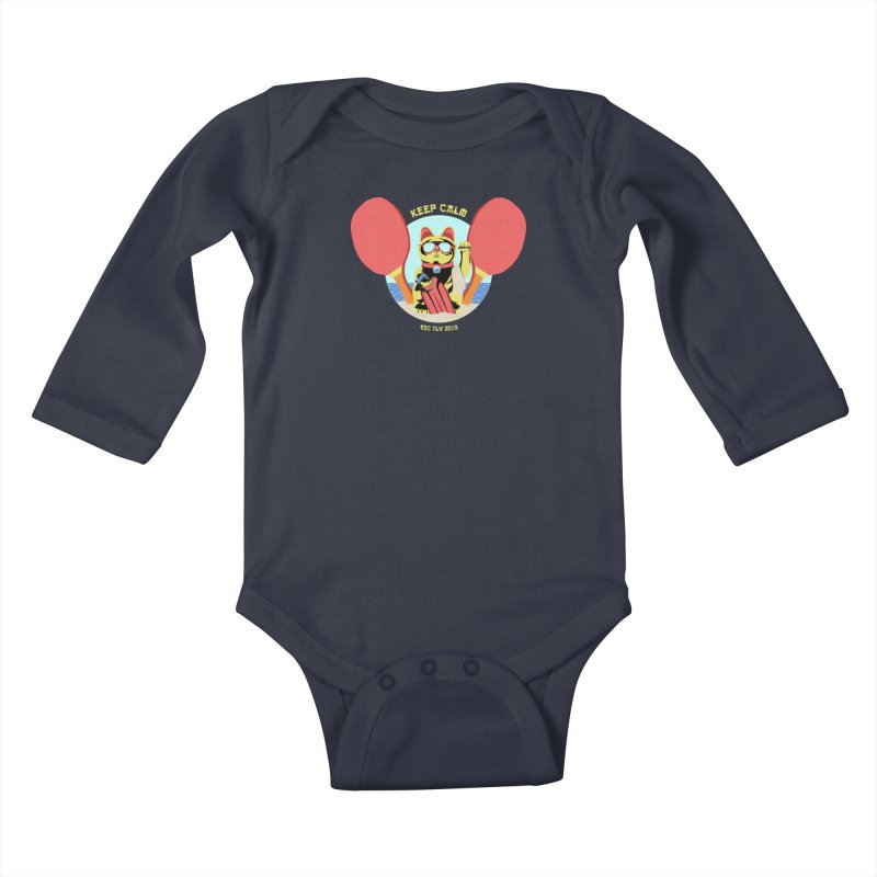 TLVision - Varient A Kids Baby Longsleeve Bodysuit by ibeenthere's Artist Shop