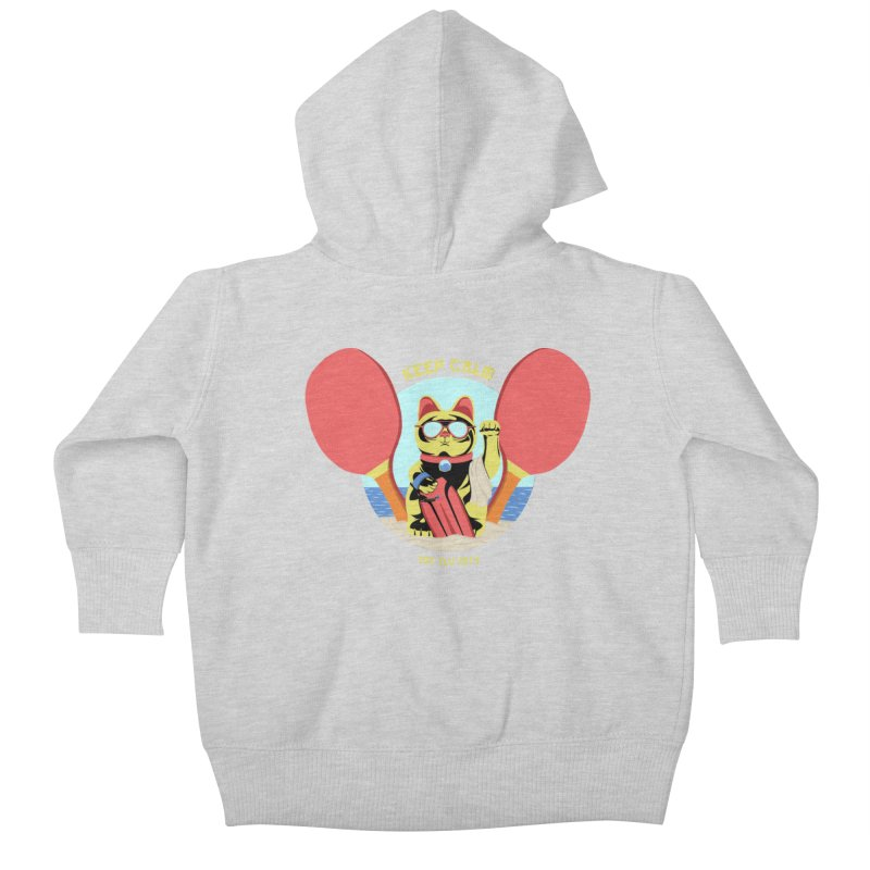 TLVision - Varient A Kids Baby Zip-Up Hoody by ibeenthere's Artist Shop