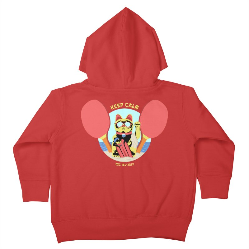 TLVision - Varient A Kids Toddler Zip-Up Hoody by ibeenthere's Artist Shop