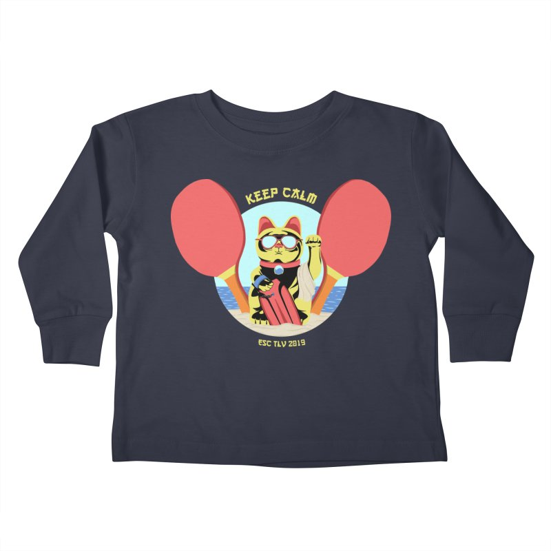 TLVision - Varient A Kids Toddler Longsleeve T-Shirt by ibeenthere's Artist Shop