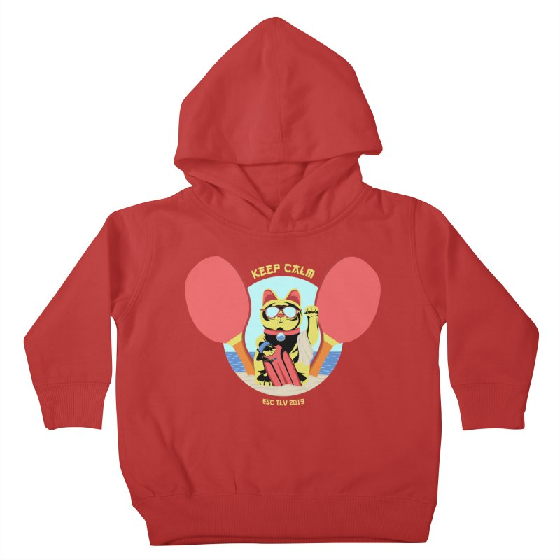 TLVision - Varient A Kids Toddler Pullover Hoody by ibeenthere's Artist Shop