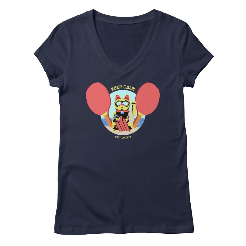 TLVision - Varient A Women's Regular V-Neck by ibeenthere's Artist Shop