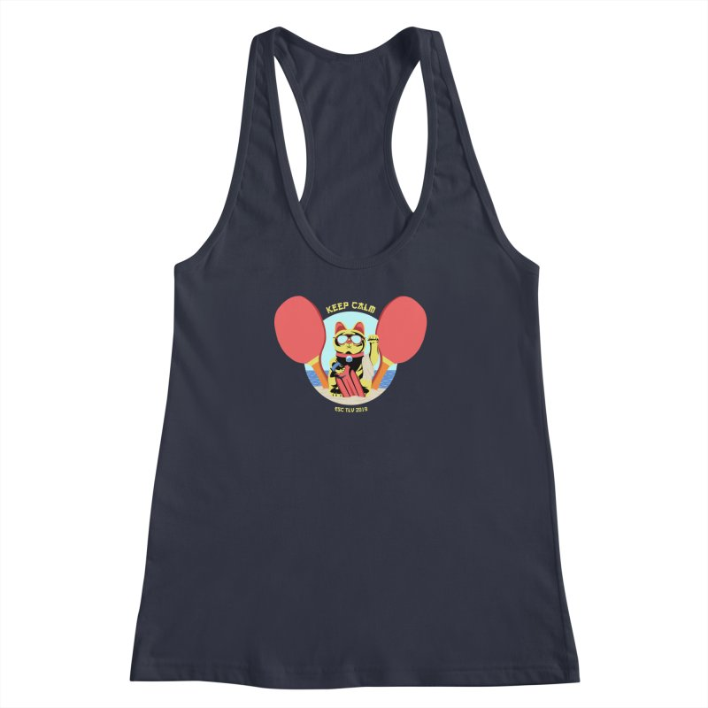 TLVision - Varient A Women's Racerback Tank by ibeenthere's Artist Shop