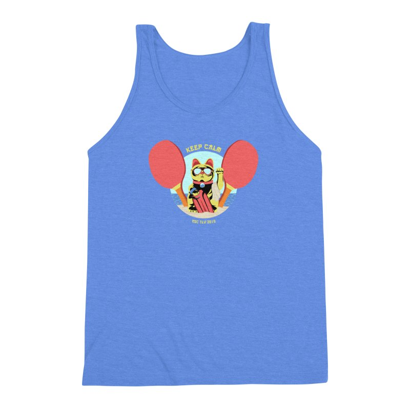 TLVision - Varient A Men's Triblend Tank by ibeenthere's Artist Shop