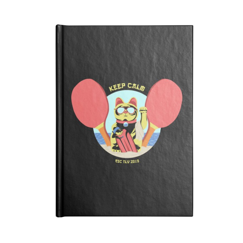 TLVision - Varient A Accessories Blank Journal Notebook by ibeenthere's Artist Shop