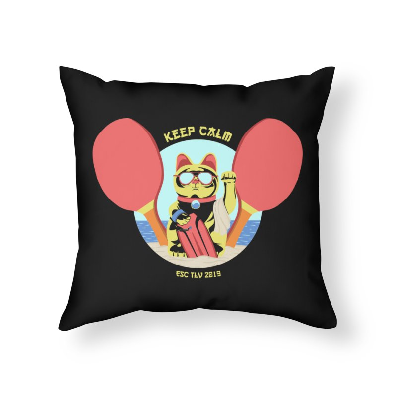 TLVision - Varient A Home Throw Pillow by ibeenthere's Artist Shop