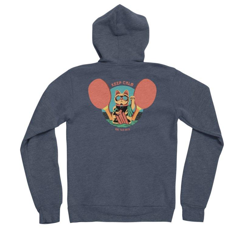 TLVision Men's Sponge Fleece Zip-Up Hoody by ibeenthere's Artist Shop