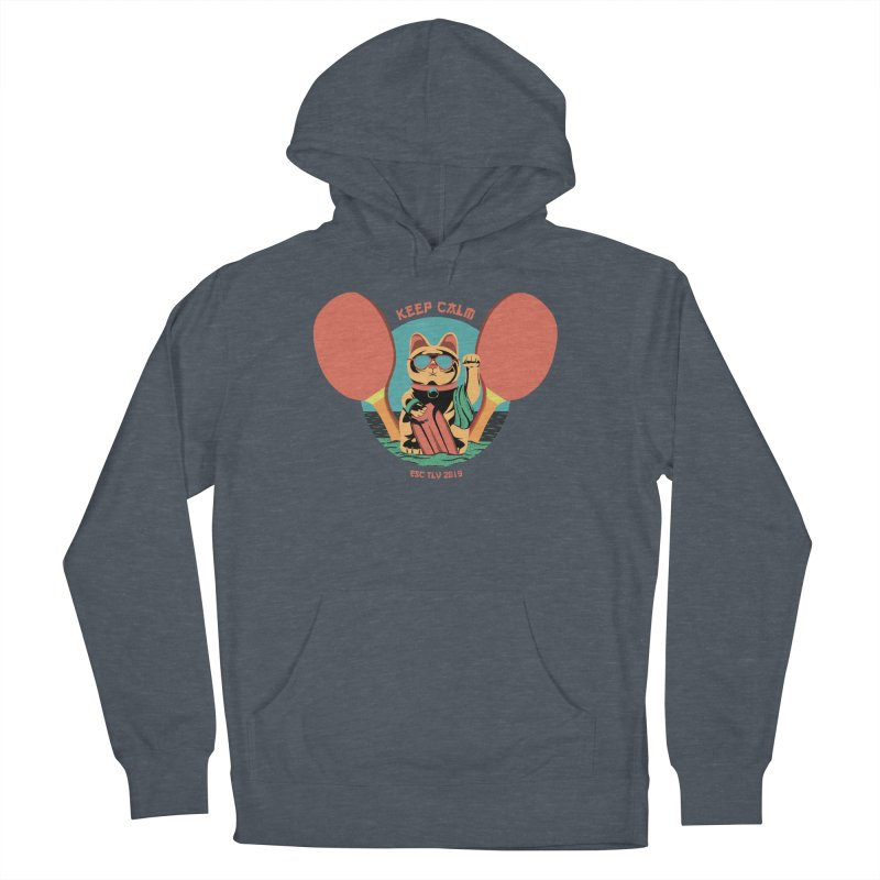 TLVision Men's French Terry Pullover Hoody by ibeenthere's Artist Shop
