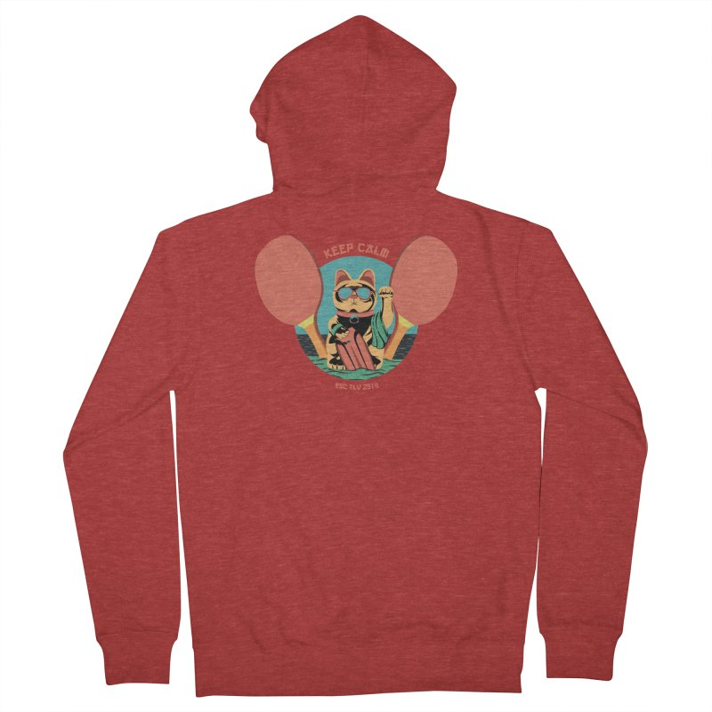 TLVision Men's French Terry Zip-Up Hoody by ibeenthere's Artist Shop