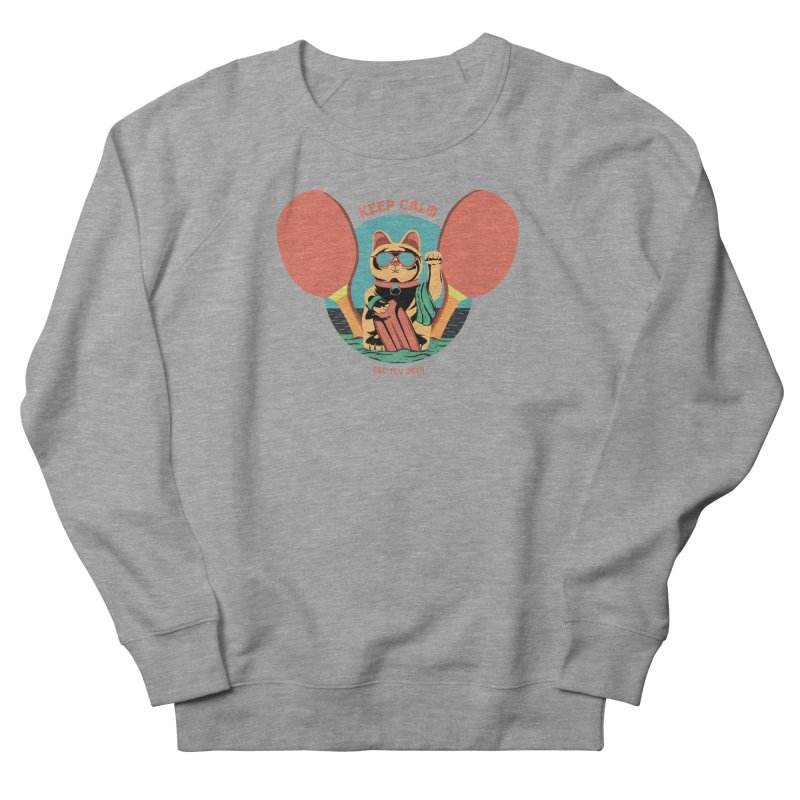 TLVision Men's French Terry Sweatshirt by ibeenthere's Artist Shop
