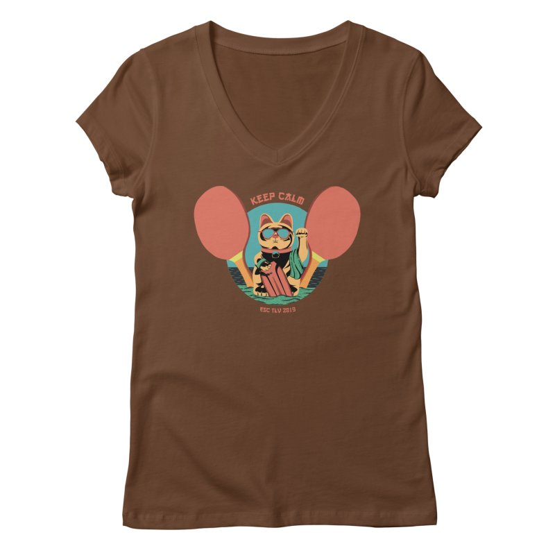 TLVision Women's Regular V-Neck by ibeenthere's Artist Shop