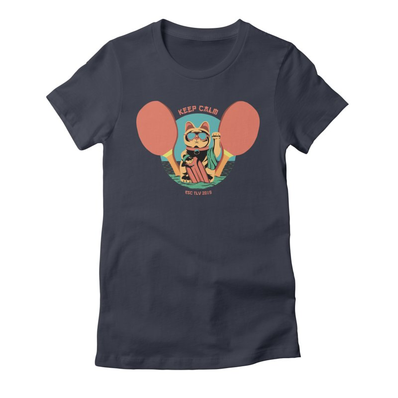 TLVision Women's Fitted T-Shirt by ibeenthere's Artist Shop