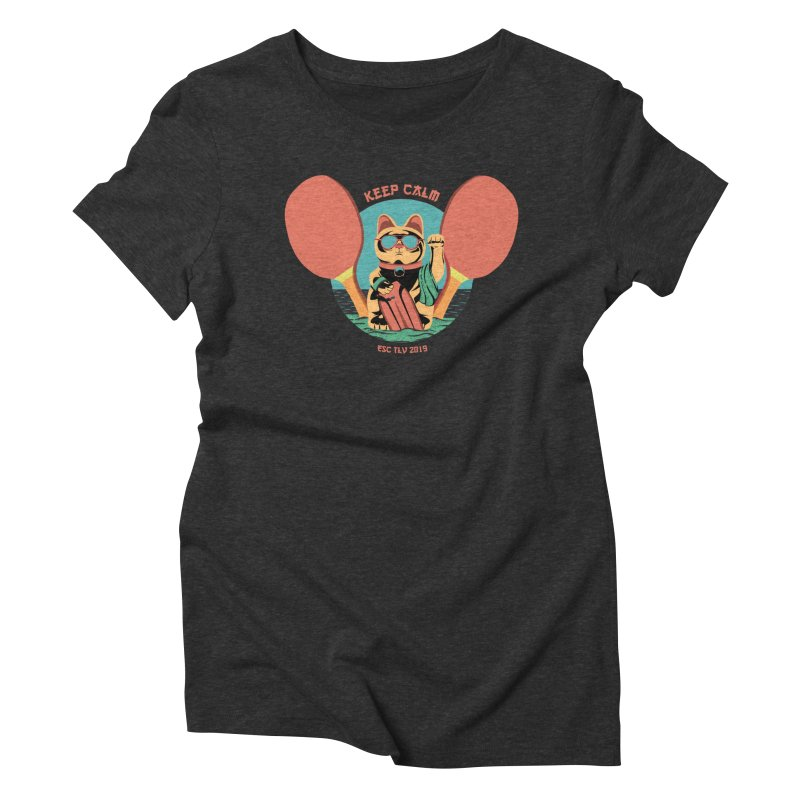 TLVision Women's Triblend T-Shirt by ibeenthere's Artist Shop