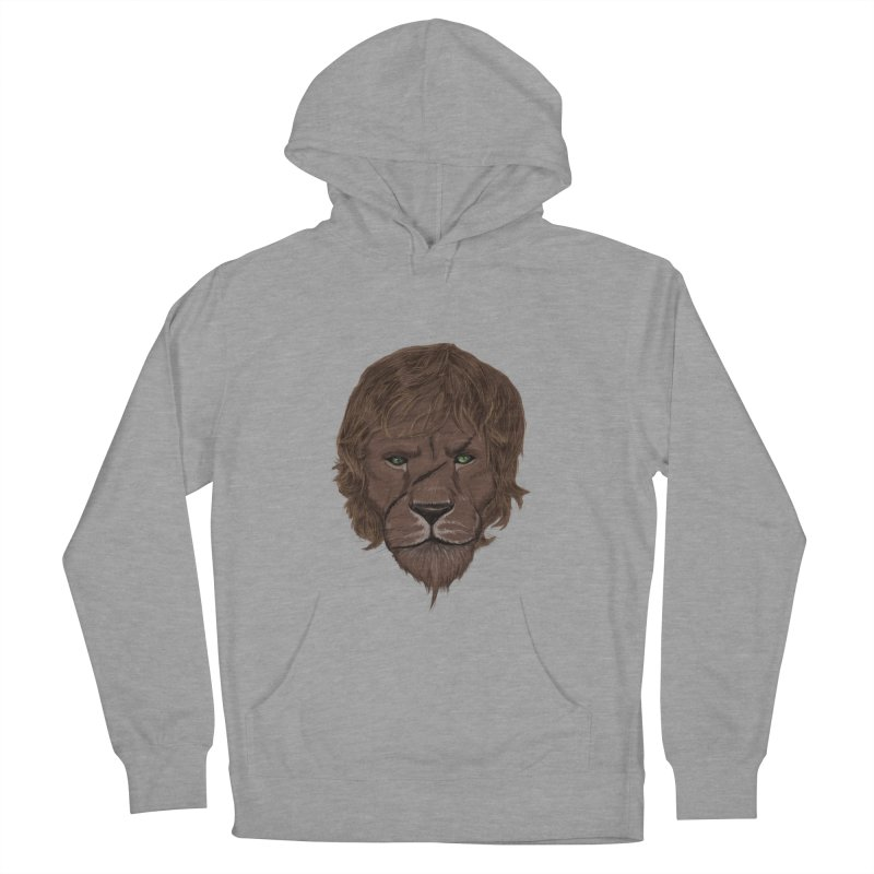 Scarred Lion Men's Pullover Hoody by ibeenthere's Artist Shop