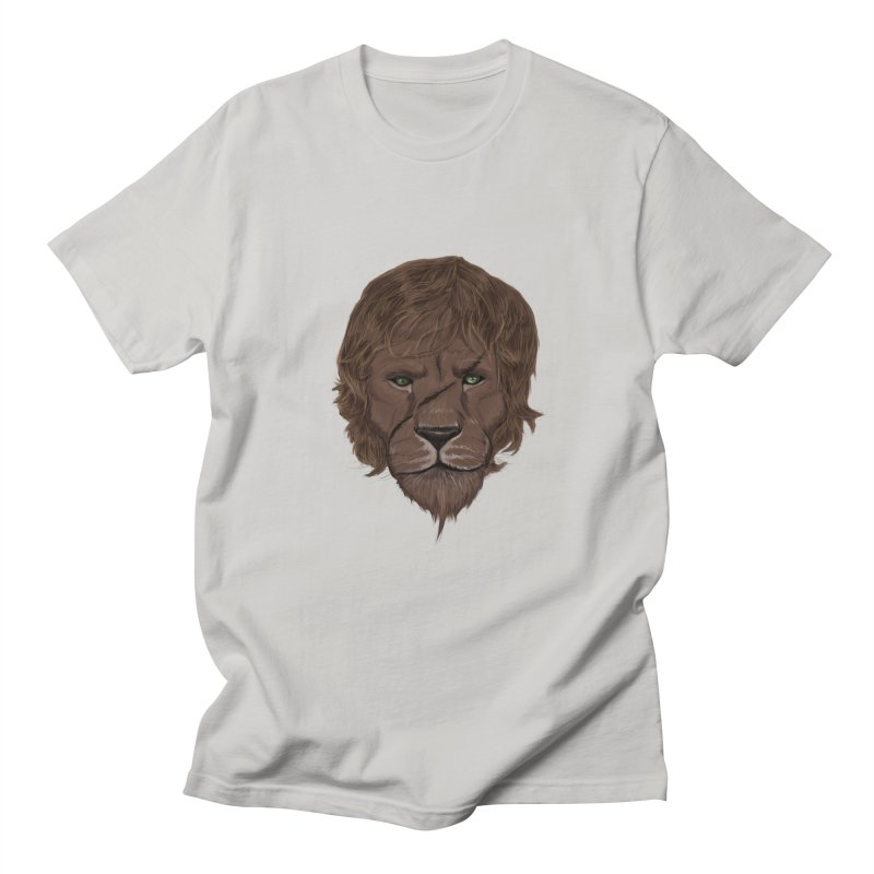 Scarred Lion Men's T-shirt by ibeenthere's Artist Shop