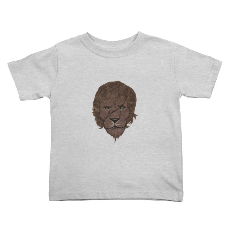 Scarred Lion Kids Toddler T-Shirt by ibeenthere's Artist Shop