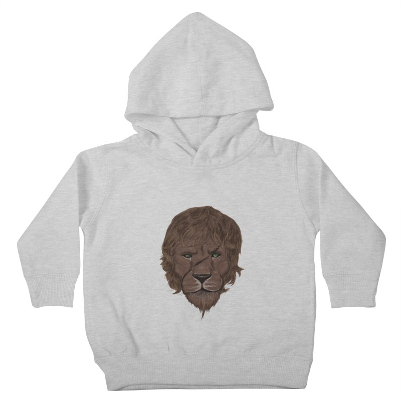 Scarred Lion Kids Toddler Pullover Hoody by ibeenthere's Artist Shop