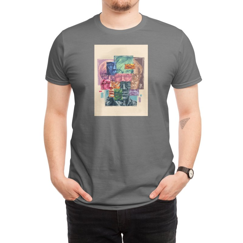 Pieces of Andy Warholl Men's T-Shirt by ibefqkr's Artist Shop