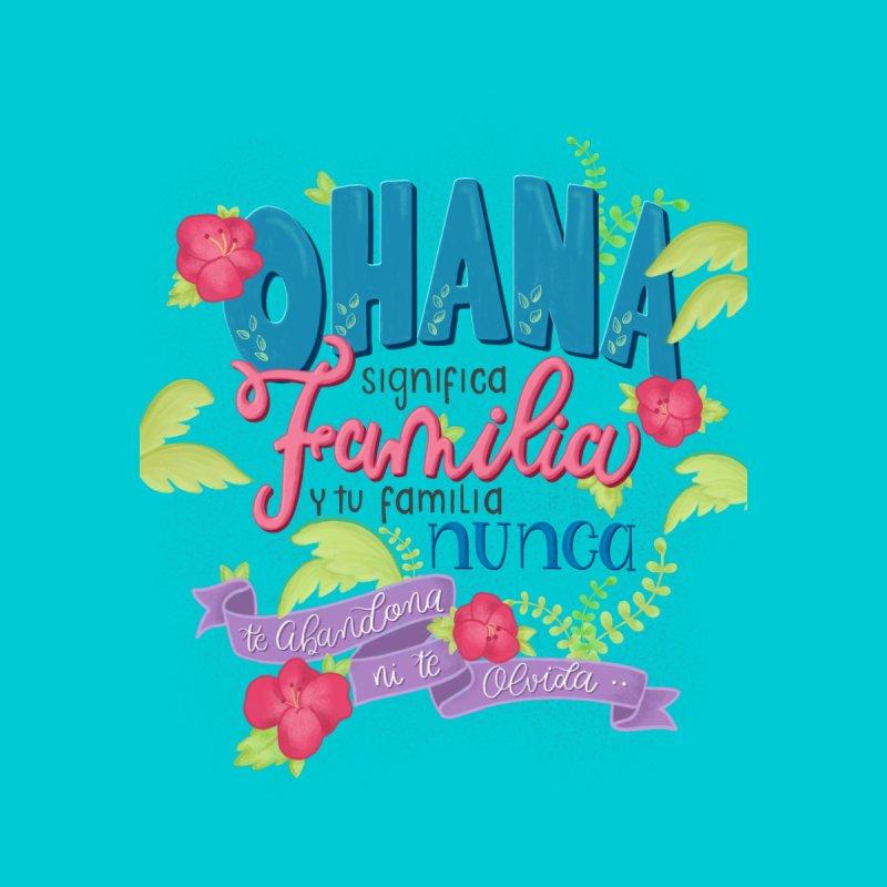 Ibelinapirulina Ohana Significa Familia Home Duvet