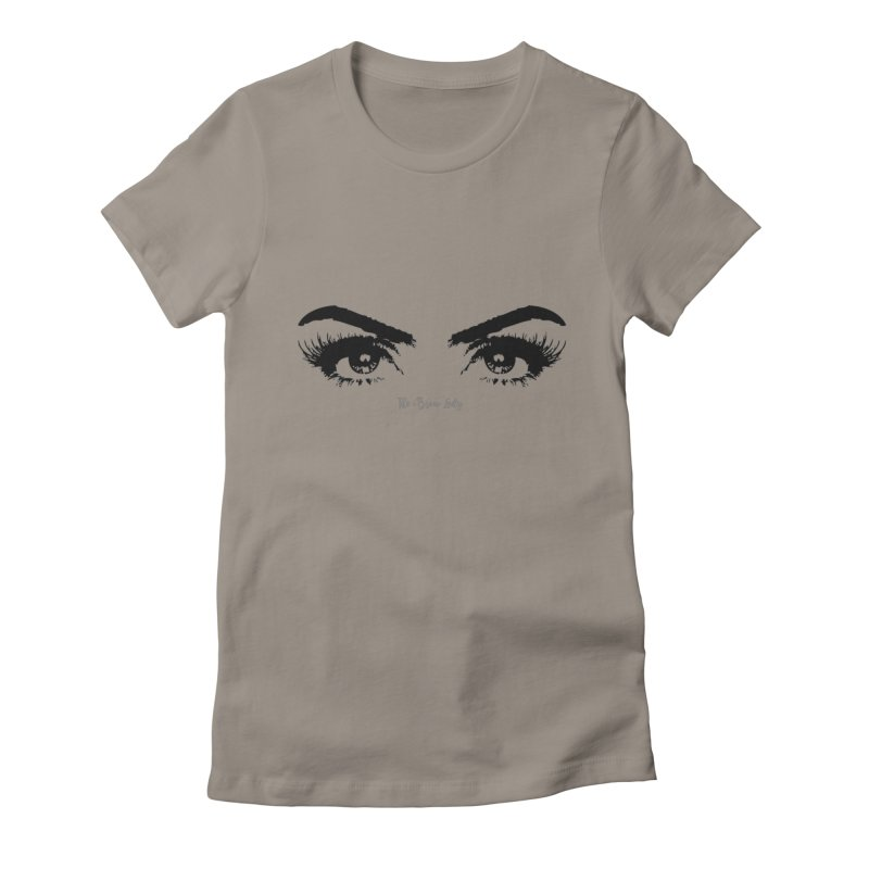 Brows & Lashes Women's Fitted T-Shirt by Threaded by The iBrow Lady
