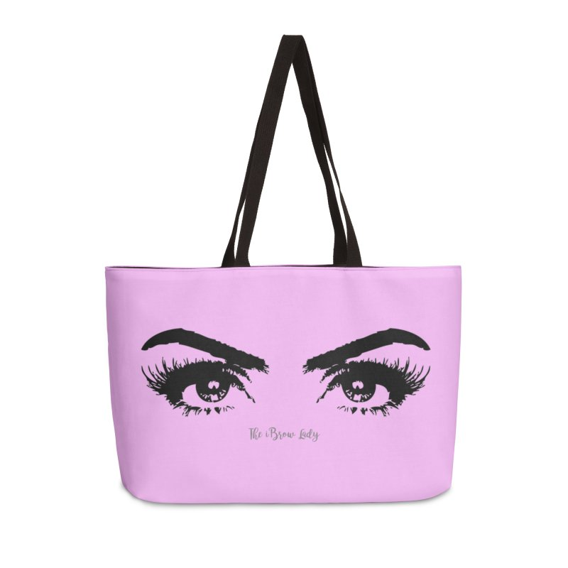Brows & Lashes Accessories Weekender Bag Bag by Threaded by The iBrow Lady
