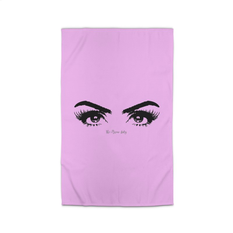 Brows & Lashes Home Rug by Threaded by The iBrow Lady