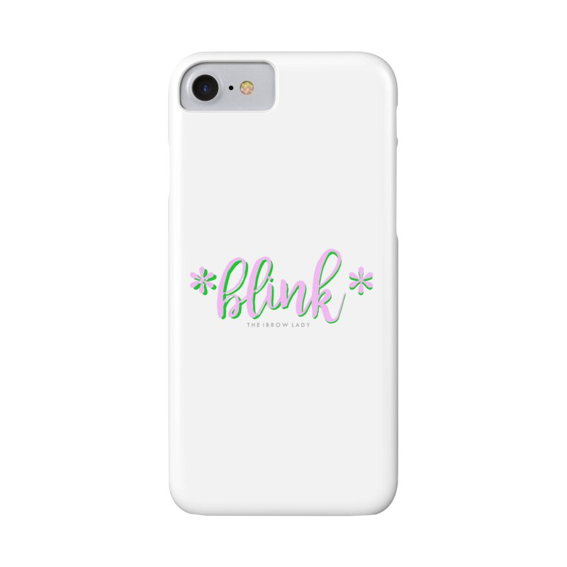 *Blink* Pink & Green Accessories Phone Case by Threaded by The iBrow Lady